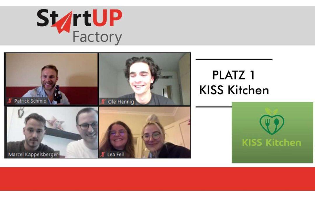 Studierende der OTH Regensburg zeigen starke Leistungen bei Startup Factory