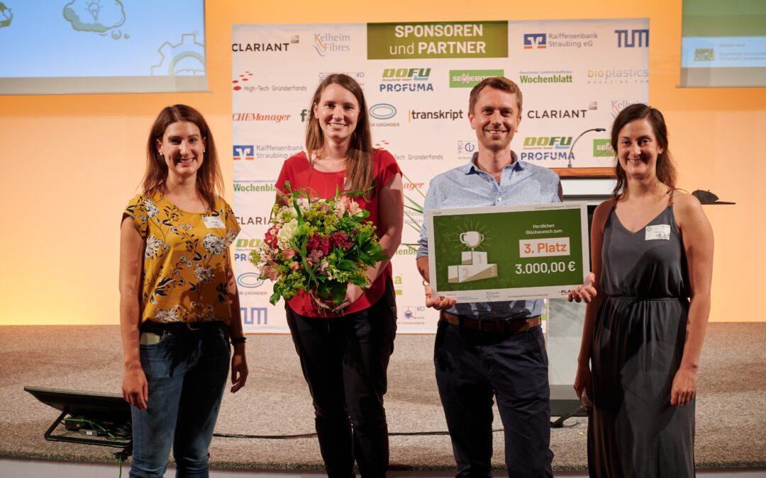 """Grünes Start-up der Universität Regensburg erfolgreich im Gründerwettbewerb """"PlanB – Biobasiert Business Bayern"""""""
