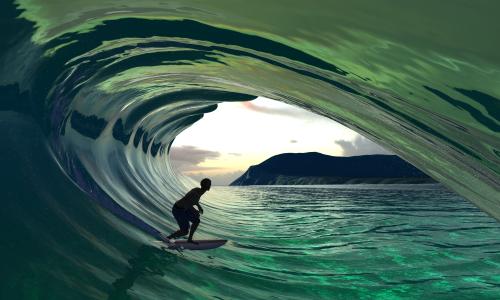 """WAVEOR:  Vollversion des Surfspiels """"Virtual Surfing"""" veröffentlicht"""