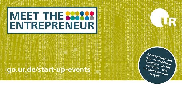 Meet the Entrepreneur: Gründer:innen aus der UR im Gespräch